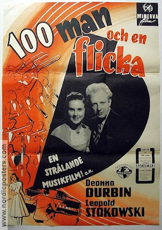 Onehundred Men and a Girl 1937 Deanna Durbin Leopold Stokowski