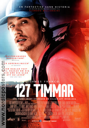 127 Hours 2010 poster James Franco Danny Boyle