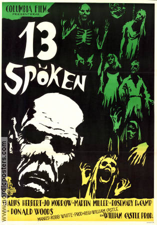 13 Ghosts 1960 poster Charles Herbert William Castle