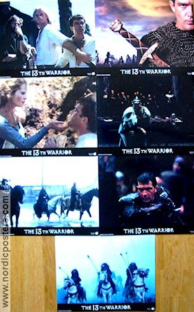 The 13th Warrior 1999 lobby card set Antonio Banderas