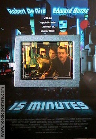 Fifteen Minutes 2001 Movie poster Robert De Niro
