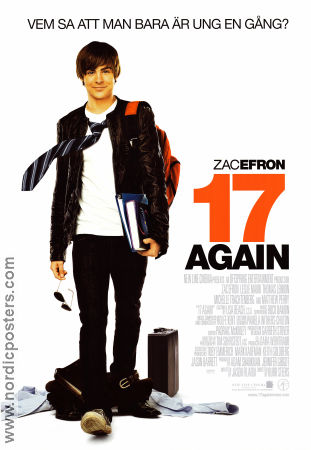17 Again 2009 poster Zac Efron Burr Steers