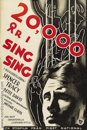 20000 Years in Sing Sing 1932 poster Spencer Tracy Michael Curtiz