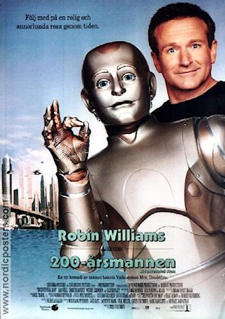 Bicentennial Man 1999 poster Robin Williams