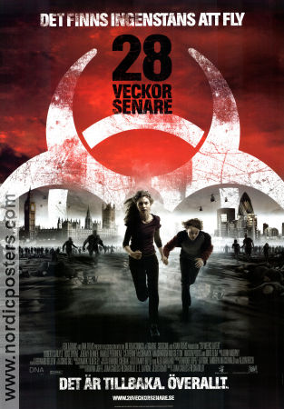 28 Weeks Later 2007 poster Jeremy Renner Juan Carlos Fresnadillo
