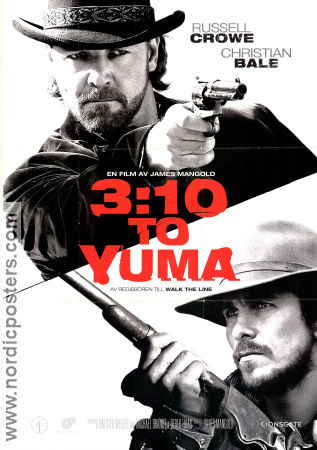 3:10 to Yuma 2007 poster Russell Crowe James Mangold