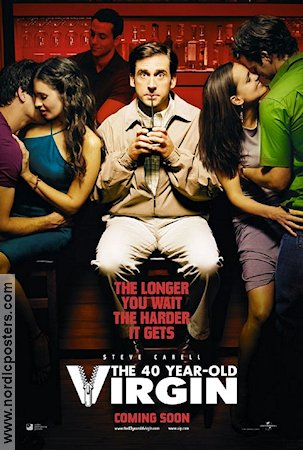 The 40 Year Old Virgin 2005 poster Steve Carell
