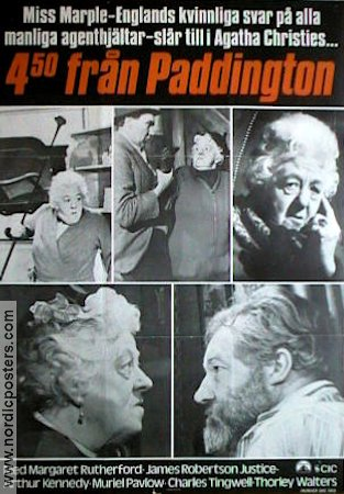 Murder She Said 1961 Margaret Rutherford Agatha Christie