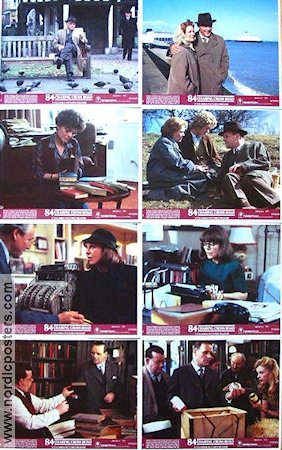84 Charing Cross Road 1987 lobby card set Anthony Hopkins