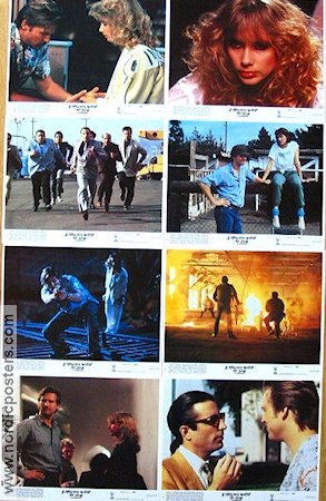 8 Million Ways to Die 1986 lobby card set Jeff Bridges