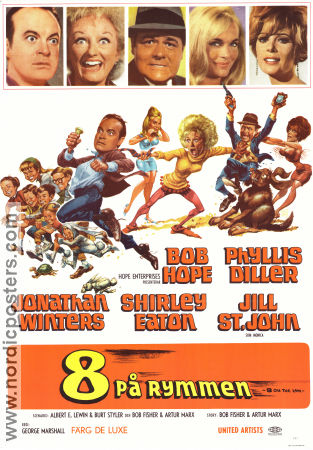 8 on the Lam 1967 Movie poster Bob Hope