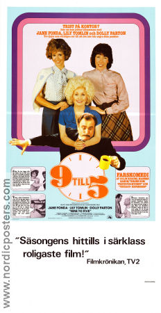 9 to 5 1980 Jane Fonda Dolly Parton Lily Tomlin