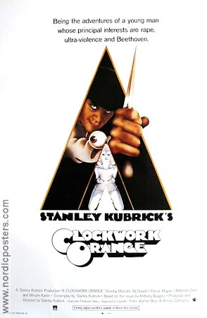 A Clockwork Orange 1971 Stanley Kubrick Malcolm McDowell Anthony Burgess