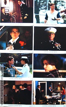 A Few Good Men 1992 lobby card set Tom Cruise