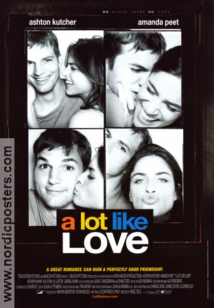 A Lot Like Love 2005 Movie poster Ashton Kutcher
