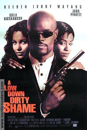 a low down dirty shame movie poster 1994 usa original