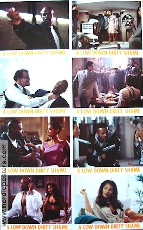 A Low Down Dirty Shame 1996 lobby card set Keenen Ivory Wayans
