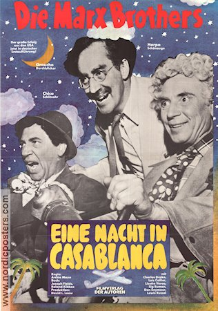 A Night in Casablanca 1946 Marx Brothers Br�derna Marx