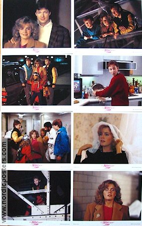 Adventures in Babysitting 1987 lobby card set Keith Coogan