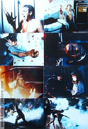 A Nightmare On Elm Street 2 1985 lobby card set Robert Englund Wes Craven