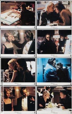 A Perfect Murder 1998 lobby card set Michael Douglas