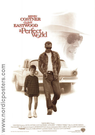 A Perfect World 1993 poster Kevin Costner Clint Eastwood