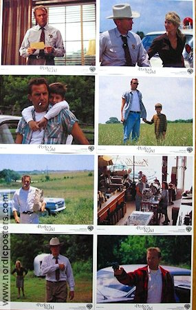 A Perfect World 1993 lobby card set Kevin Costner