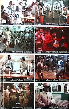 A Soldier's Story 1984 lobby card set Howard Rollins