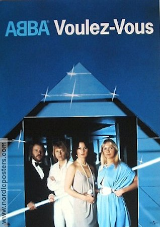 Abba Voulez Vous Cd Poster Poster 1992 Original Nordicposters