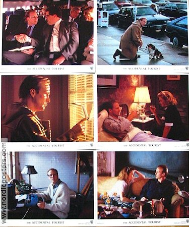 The Accidental Tourist 1988 lobby card set William Hurt