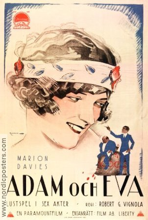 Adam and Eve 1923 poster Marion Davies