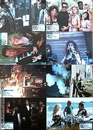 Adventures of Ford Fairlane 1990 lobby card set Andrew Dice-Clay Renny Harlin