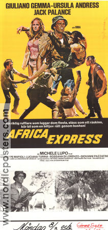 Africa Express 1975 poster Giuliano Gemma Michele Lupo
