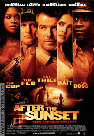 After the Sunset 2004 poster Pierce Brosnan Brett Ratner