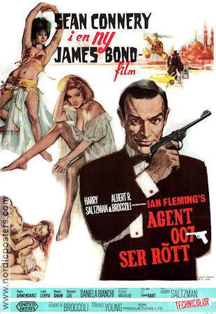 From Russia with Love Poster 70x100cm RO liten reva original