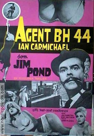 The Case of the 44´s 1965 poster Ian Carmichael