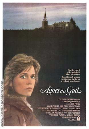 Agnes of God 1985 Jane Fonda Anne Bancroft Meg Tilly