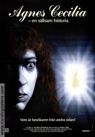 Agnes Cecilia 1991 Movie poster Stina Ekblad