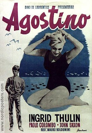 Agostino 1963 poster Ingrid Thulin