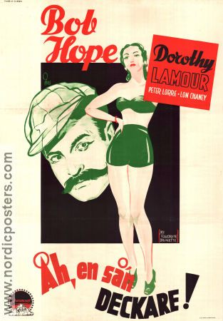 My Favorite Brunette 1947 poster Bob Hope Elliott Nugent