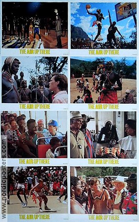 The Air Up There 1994 lobby card set Kevin Bacon