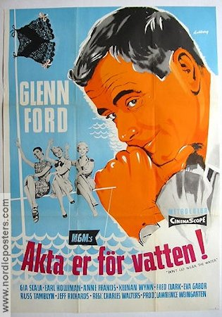 Don't Go Near the Water 1958 Glenn Ford Eva Gabor