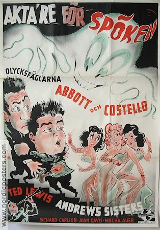 Hold That Ghost 1942 poster Abbott and Costello