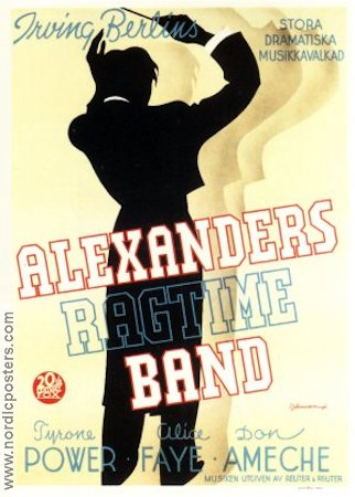 Alexander´s Ragtime Band 1938 poster Tyrone Power