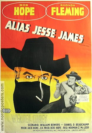 Alias Jesse James 1959 Bob Hope Rhonda Fleming