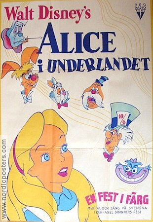 Alice in Wonderland 1950 Disney