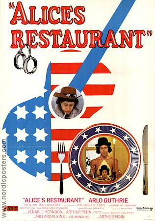 Alice's Restaurant 1970 Movie poster Arthur Penn