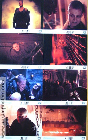 Alien 3 1992 lobby card set Sigourney Weaver David Fincher