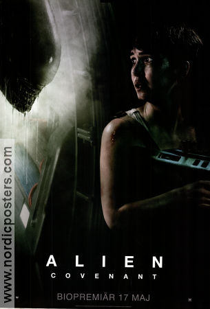 Alien: Covenant 2017 poster Michael Fassbender Ridley Scott