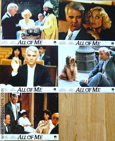 All of Me 1984 lobby card set Steve Martin